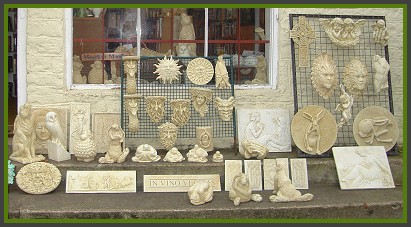 Marble Inspiration shop in the Cotswolds