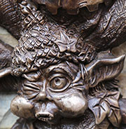 bronze wall ornament