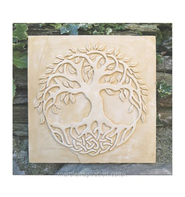 Garden Wall Plaques : Floral Wall Plaques : Contemporary Tree of Life
