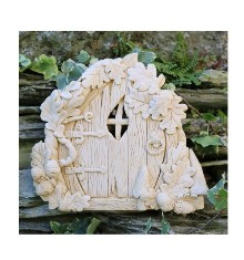 Oak Fairy Door Garden Wall Ornament
