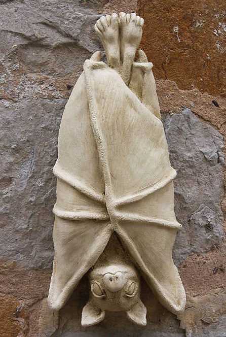 Garden Ornaments : Animal & Bird Garden Ornaments : Bat Wall Ornament 'Bat 1'