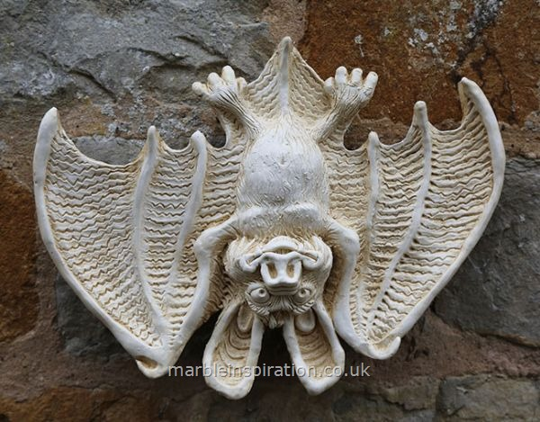 Comical Bat 1 Wings Out Wall Decoration Garden