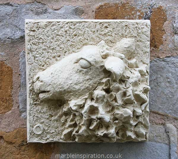 Garden Wall Plaques : Animal Wall Plaques : Ewe Wall Plaque