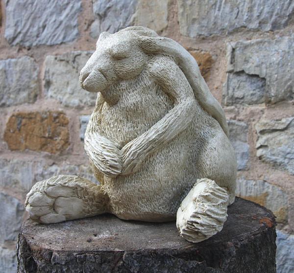 hare garden sculpture hare ball garden ornaments buy. Black Bedroom Furniture Sets. Home Design Ideas