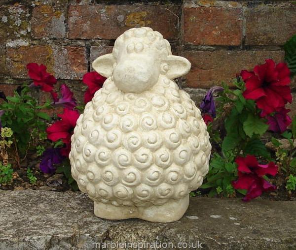 lamb garden ornament larry garden ornaments find animal. Black Bedroom Furniture Sets. Home Design Ideas
