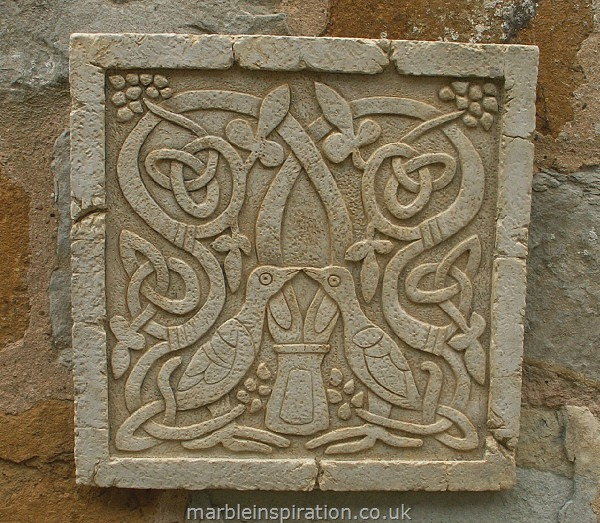Celtic Bird Wall Mounted Plaque