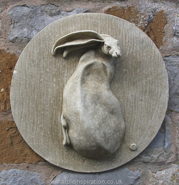 Hare Wall Plaque 'Monacella'