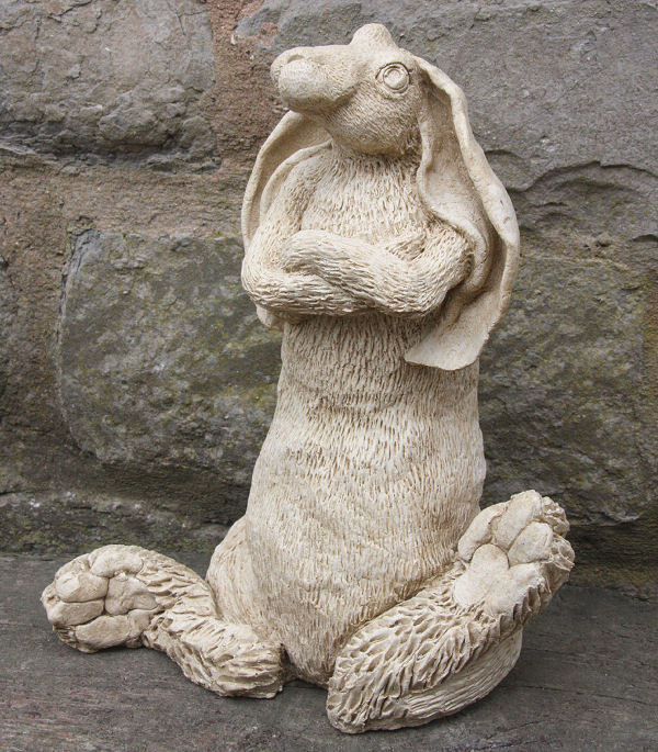 Garden Ornament Splitting Hare