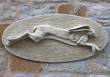 Hare Wall Plaque Hare Today Gone Tomorrow