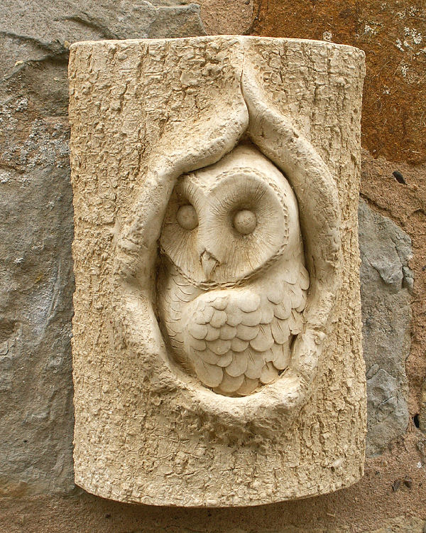 Garden Ornament Tree Owl