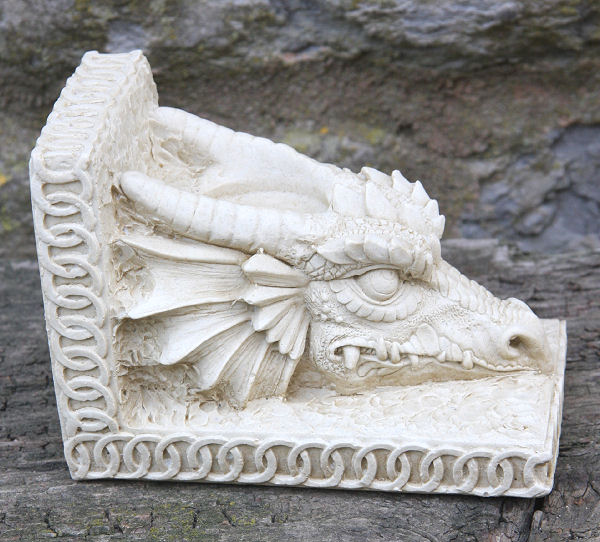 Dragon Tea Light Garden Ornament
