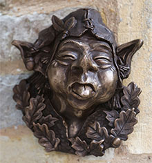 Bronze Wall Ornament Barney