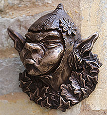 Bronze Wall Ornament Bertie