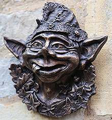 Bronze Wall Ornament Billy