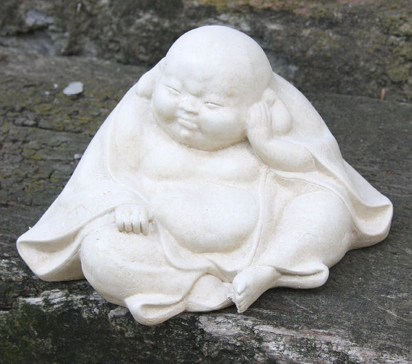 Garden Ornament 'Sleepy Buddha'