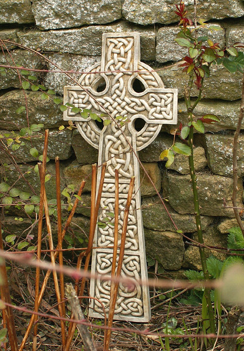 Garden Ornaments : Celtic Cross Garden Ornaments : Garden Ornament 'Celtic Cross 1'