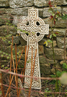 Garden Ornament Celtic Cross 1