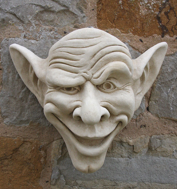 Gargoyle Garden Planter/Flower Pot 'Ben'