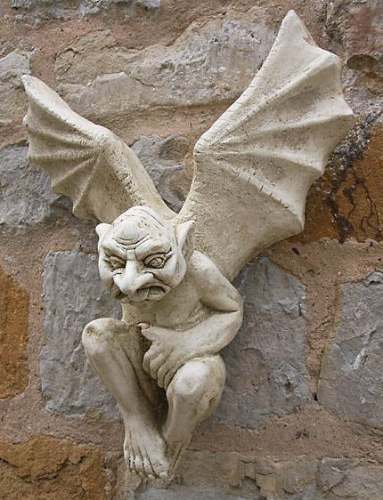 Garden Ornaments : Gargoyle Ornaments : Gargoyle Garden Ornament 'Itchie Ernie'