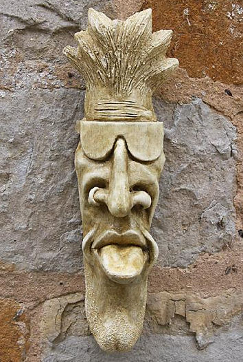 Garden Ornaments : Gargoyle Ornaments : Gargoyle/Garden Ornament 'Kevin with Shades'
