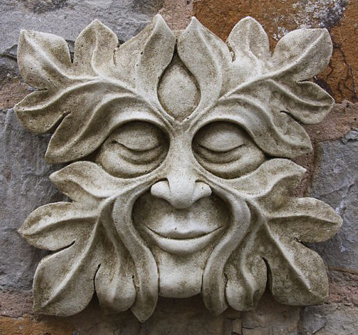 Stone Green Man 'Meredith'