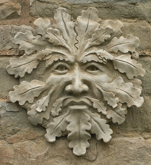 Green Man Garden Ornament 'Blackwell'
