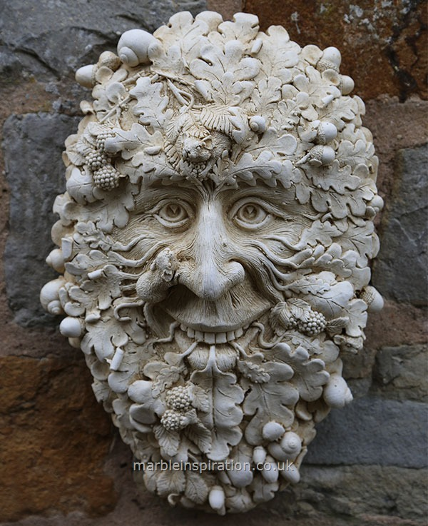Green Man Garden Ornament 'Crimscote'