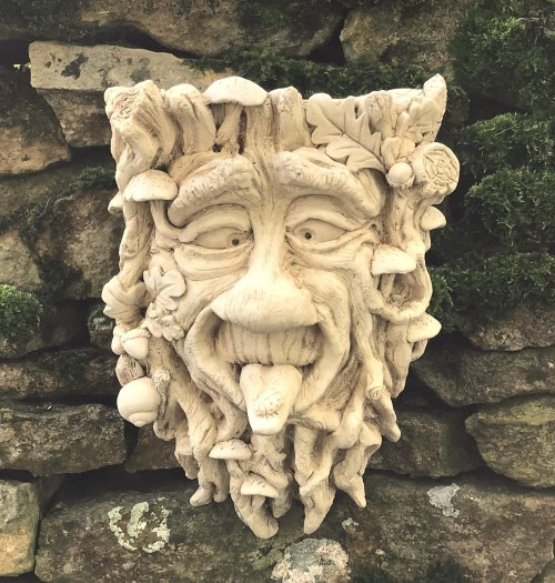Micky Green Man Garden Ornament