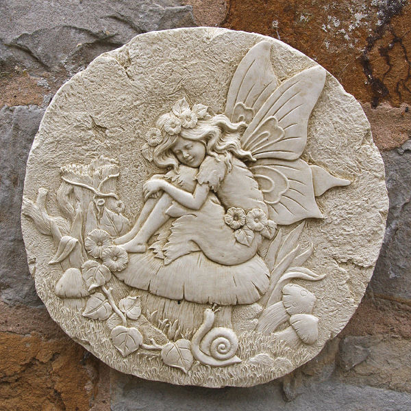 Wall Plaques Amazing Round Fairy Wall Plaque  Garden Wall Plaques Find Mythical Review