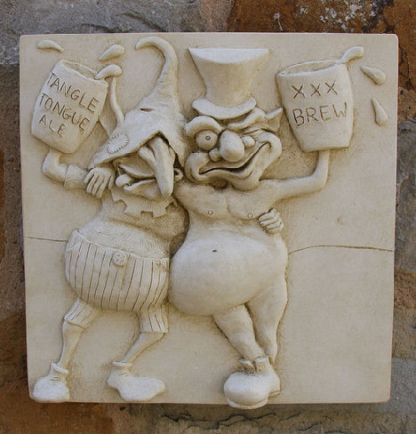 Drunken Goblins Wall Plaque