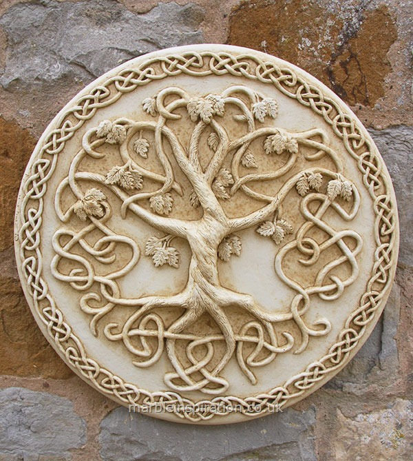 Tree Of Life Wall Plaque Garden Wall Plaques Online