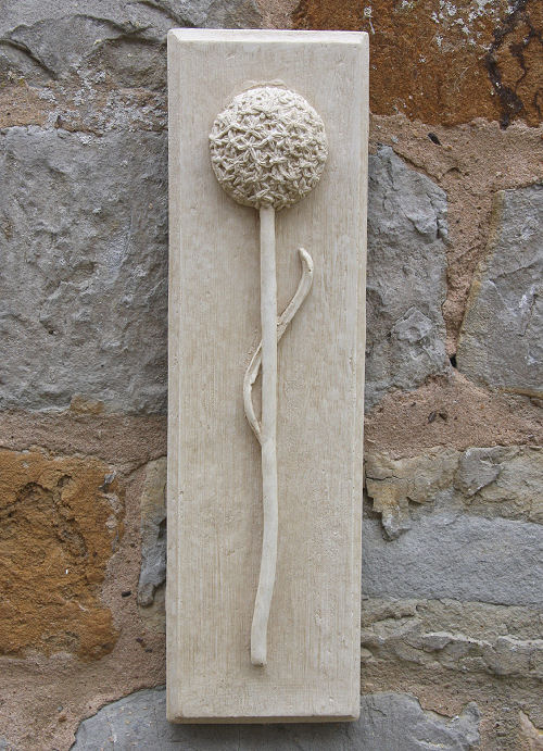 Allium Wall Plaque