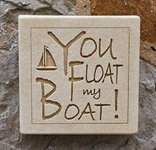 Wall Plaque You Float My Boat!