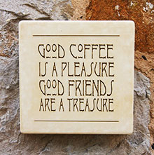 Wall Plaque Good Coffee Is A Pleasure...