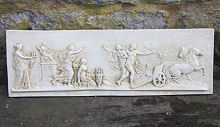 Large Greek Frieze Wall Plaque