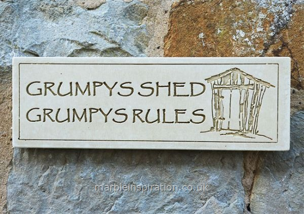 Wall Plaque Grumpys Shed Grumpys Rules