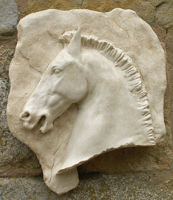 Horse Head Wall Plaque (Left)