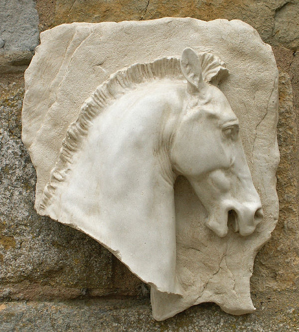 Horse Head Wall Plaque (Right)