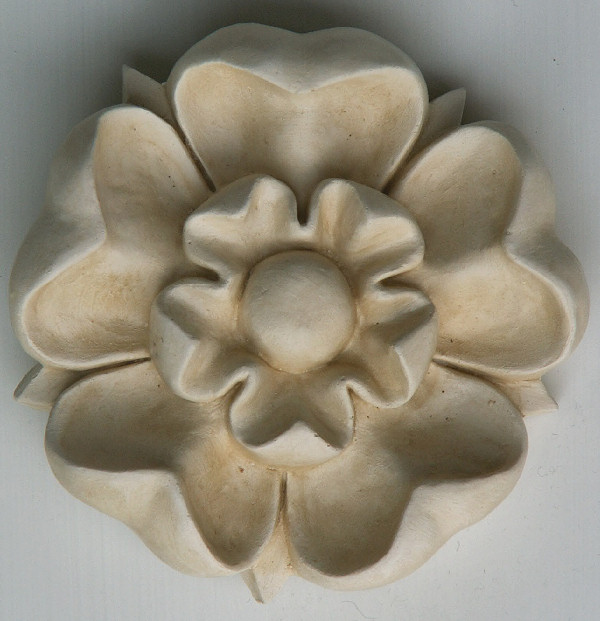 Garden Wall Ornament 'Tudor Rose'