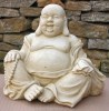 Garden Ornament 'Happy Buddha'